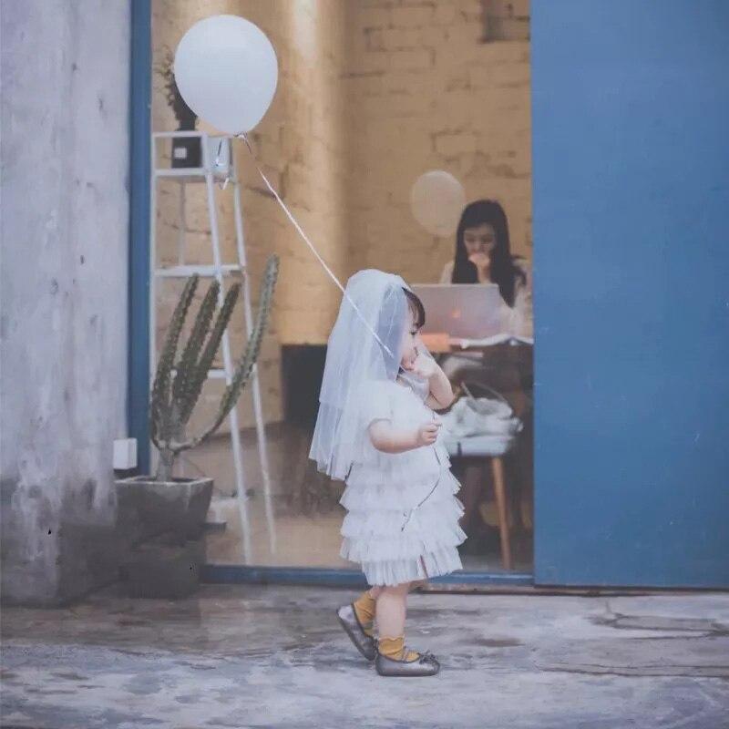 Aus Dem Ausland Importiert 2019 Kurze Kinder Mädchen Erste Kommunion Schleier Doppel Schichten Mit Kamm Hochzeit Blume Mädchen Schleier Tüll Voile Fille Kommunion Nette