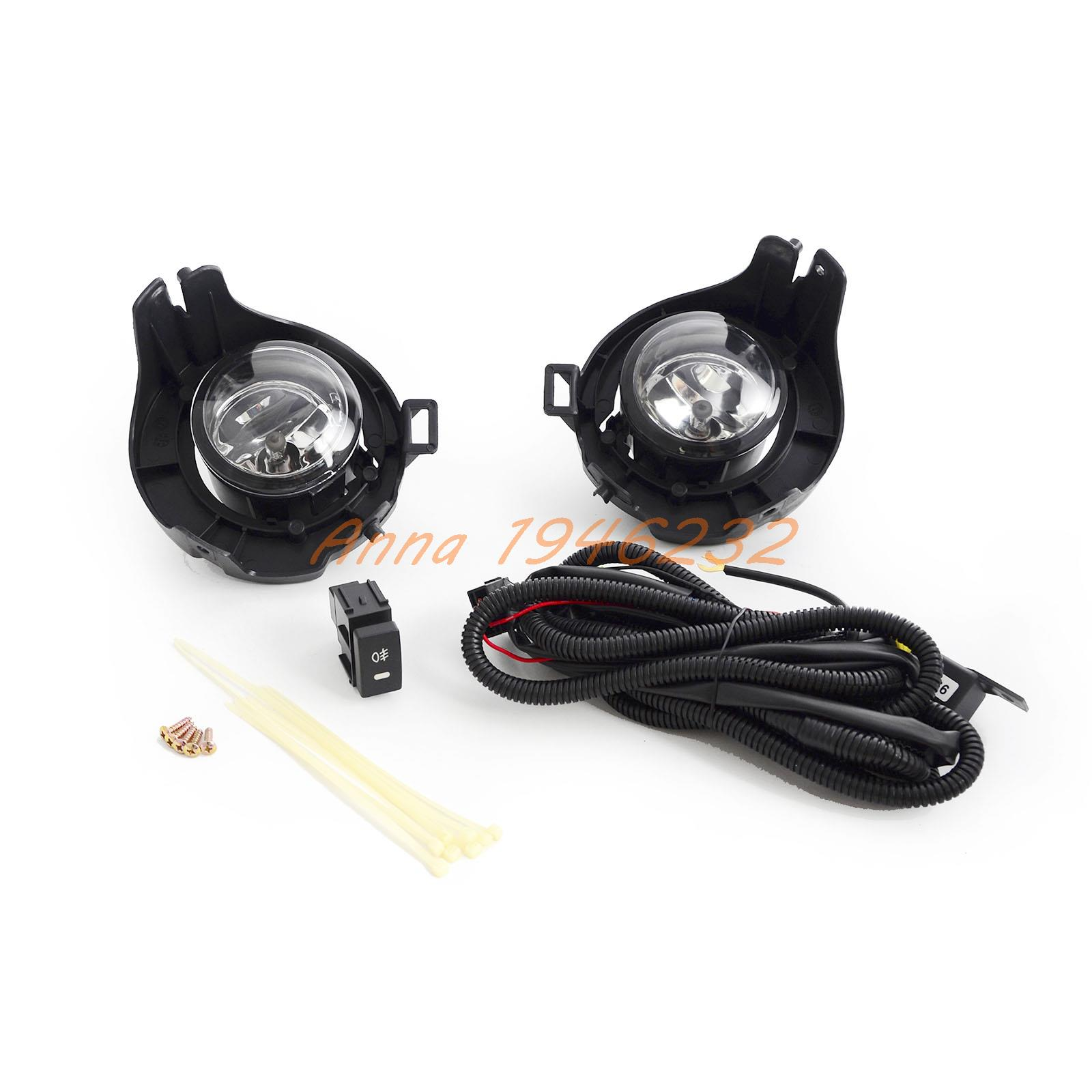 For Nissan NAVARA D40 Driving/ Fog Lights Lamps Complete Kit 2005-2014