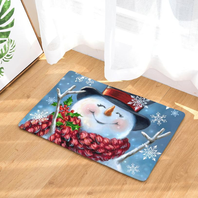 Bathroom Toilet Mats Winter Thicken Bathroom Toilet Seat Cover Christmas Decorations For Home Toilet Seat Cover Pad