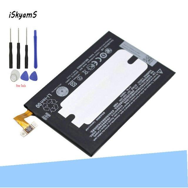 ISkyamS 1x2600 mAh Bateria de Substituição Para HTC one 2 M8 B0P6B100 W8 E8 M8T M8W M8D M 8 m8x M8ST M8SD M8SW M8 Ace One Max + Ferramenta