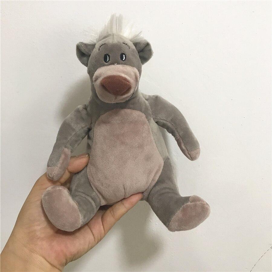1pcs 16cm The Jungle Book Baloo Bear Plush Toy Stuffed Animals toys цены