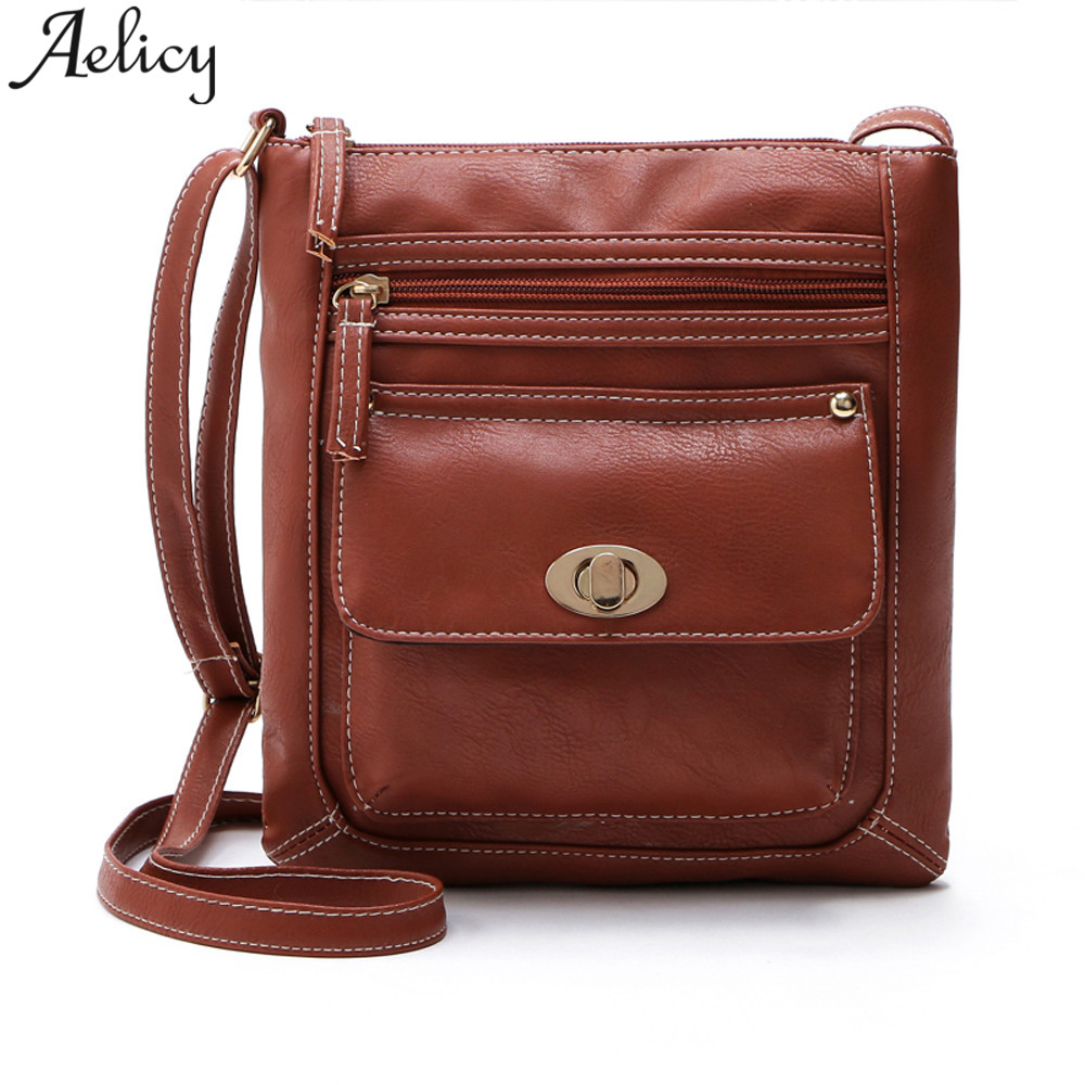 Aelicy Brand Designers Women Messenger Bags Females Bucket Bag Leather Crossbody Shoulder Bag Bolsas Femininas Sac A Main Bolsos цена