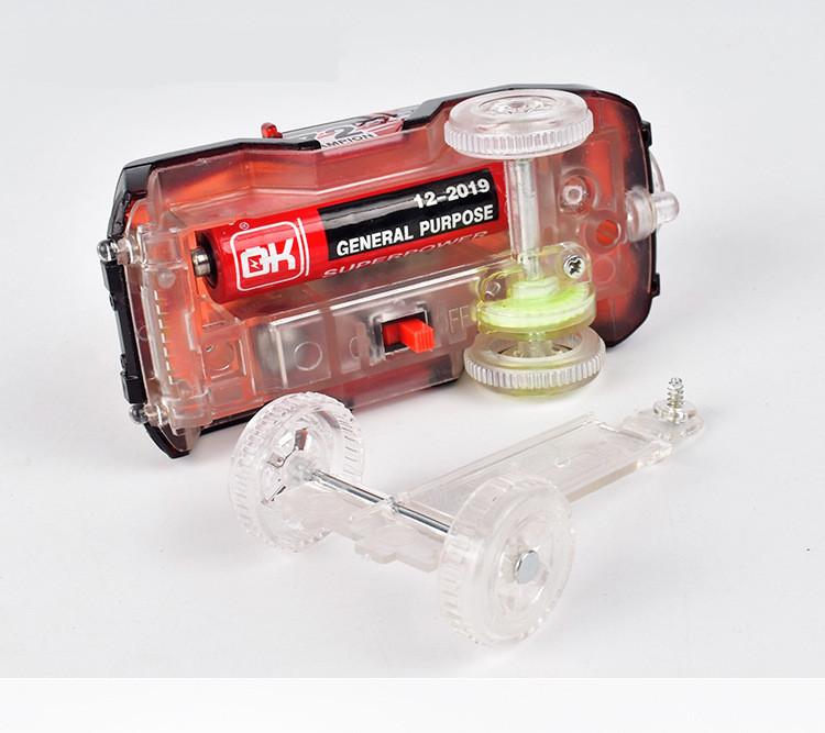 Shineheng Electronics LED Car Toys with Flashing Lights and Tracks together