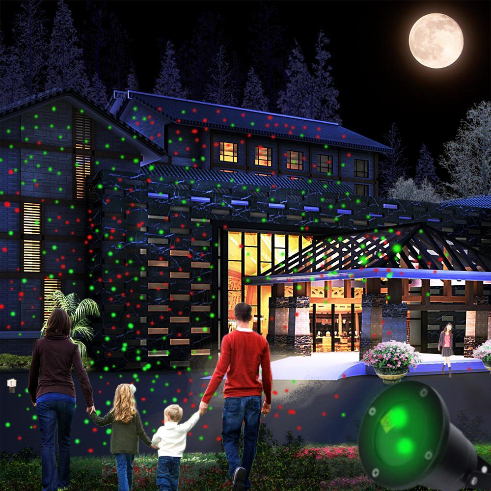 Backyard Twinkle Lights: Laser Dekorationen Werbeaktion-Shop Für Werbeaktion Laser