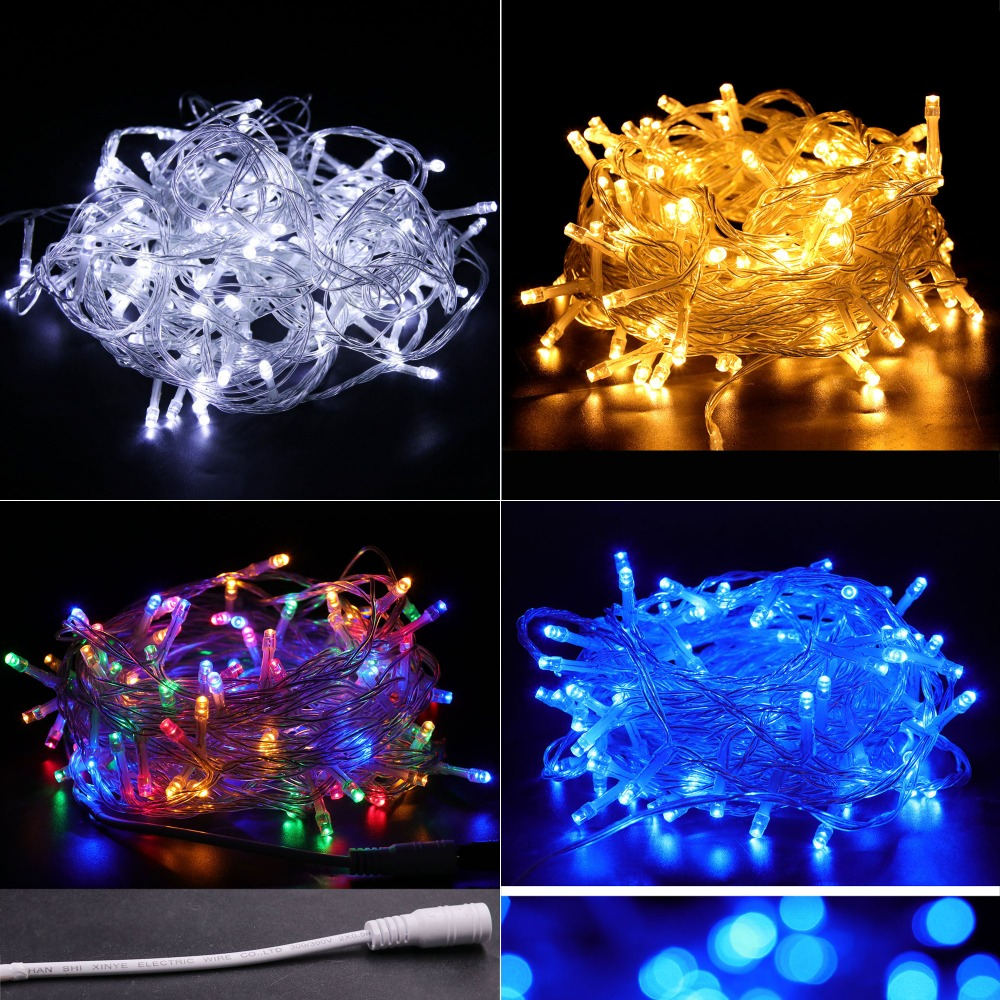 2m 3m 5m 10m USB Waterproof Xmas Lamp LED String Light Holiday Decoration Christmas Fairy Lights Outdoors with Controller 1