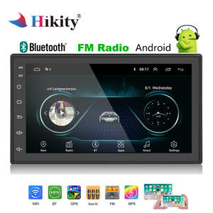 Hikity 2 Din Android Car Radio GPS Stereo 7'' Autoradio 2din MP5 Player Bluetooth WIFI GPS FM AM Audio Radio multimedia player