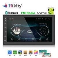 Hikity 2 Din Android Car Radio GPS Stereo 7'' Autoradio 2din MP5 Player Bluetooth WIFI GPS FM AM Audio Radio multimedia player
