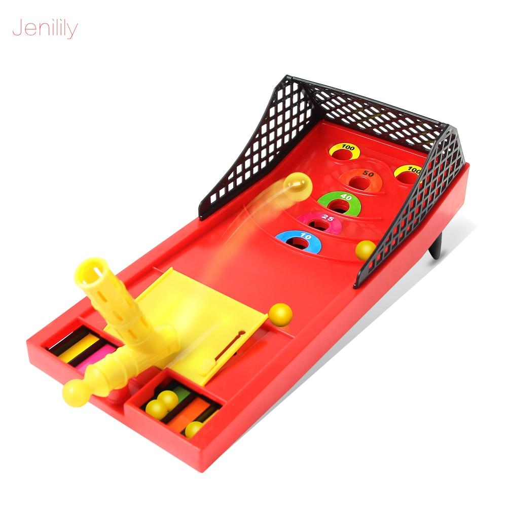 Kids Toy Mini Ball Shooting Game Toys Family Sport Game Multiplayer Game Montessori Toys Funny Desktop Parents-child Game