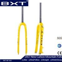 Carbon MTB Fork Super Light Mountain Bicycle Fork 26er 27 5er Brand BXT Carbon Fiber Bike