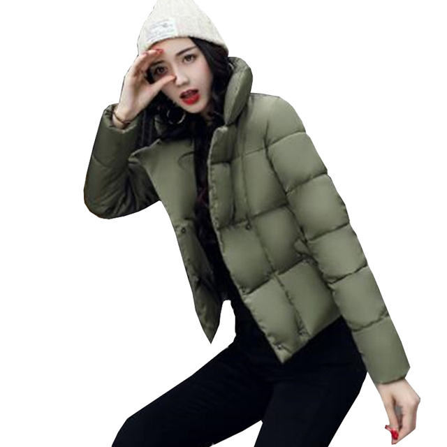 5bc6bfaecdaf0 New Girl Jacket Coat Women Parkas Nice Autumn Winter Jacket Women Coats And Jackets  Outerwear Short Slim Lady Coats Orange 4766
