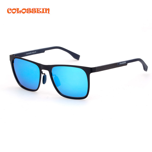 COLOSSEIN ORANGE LABEL High Quality Sunglasses Men Formal Rectangle Frame Outdoor Driving Style Adult  Popular Eyewear