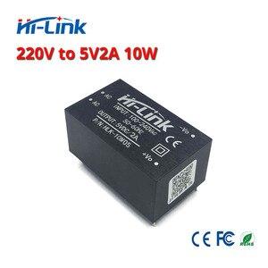 Image 4 - HLK 10M05 AC DC 220V zu 5 V/10 W isoliert intelligente haushalts schalter schritt unten mini netzteil modul für smart gerät