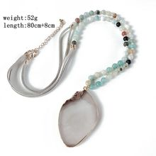Free Shipping New Development Amazon Stone Pendant Fashion Necklace цена