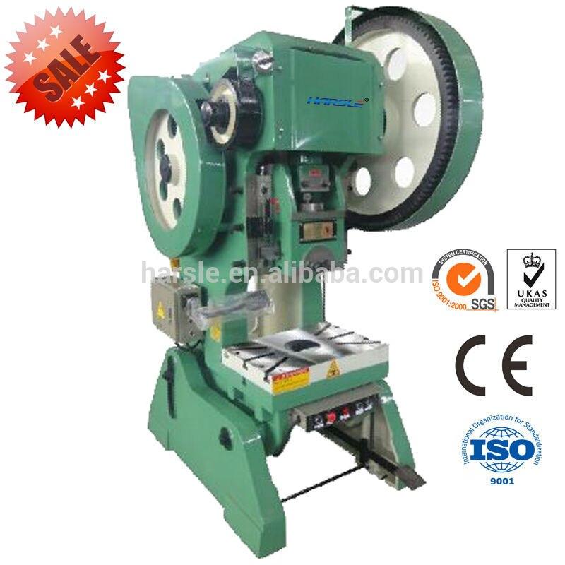 Small Press J23 25T Sheet Metal Working Machinery /steel