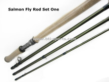 "Free shipping Aventik 12'6"" LW8/9, 4SEC Salmon fly rods Fishing Rod NEW"