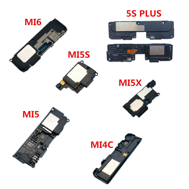 New Speaker buzzer ringer For Xiaomi Mi5 Mi5S PLUS MI5X MI6 Mi4c Mi Max 2  loud sound buzzer flex cable replacement parts