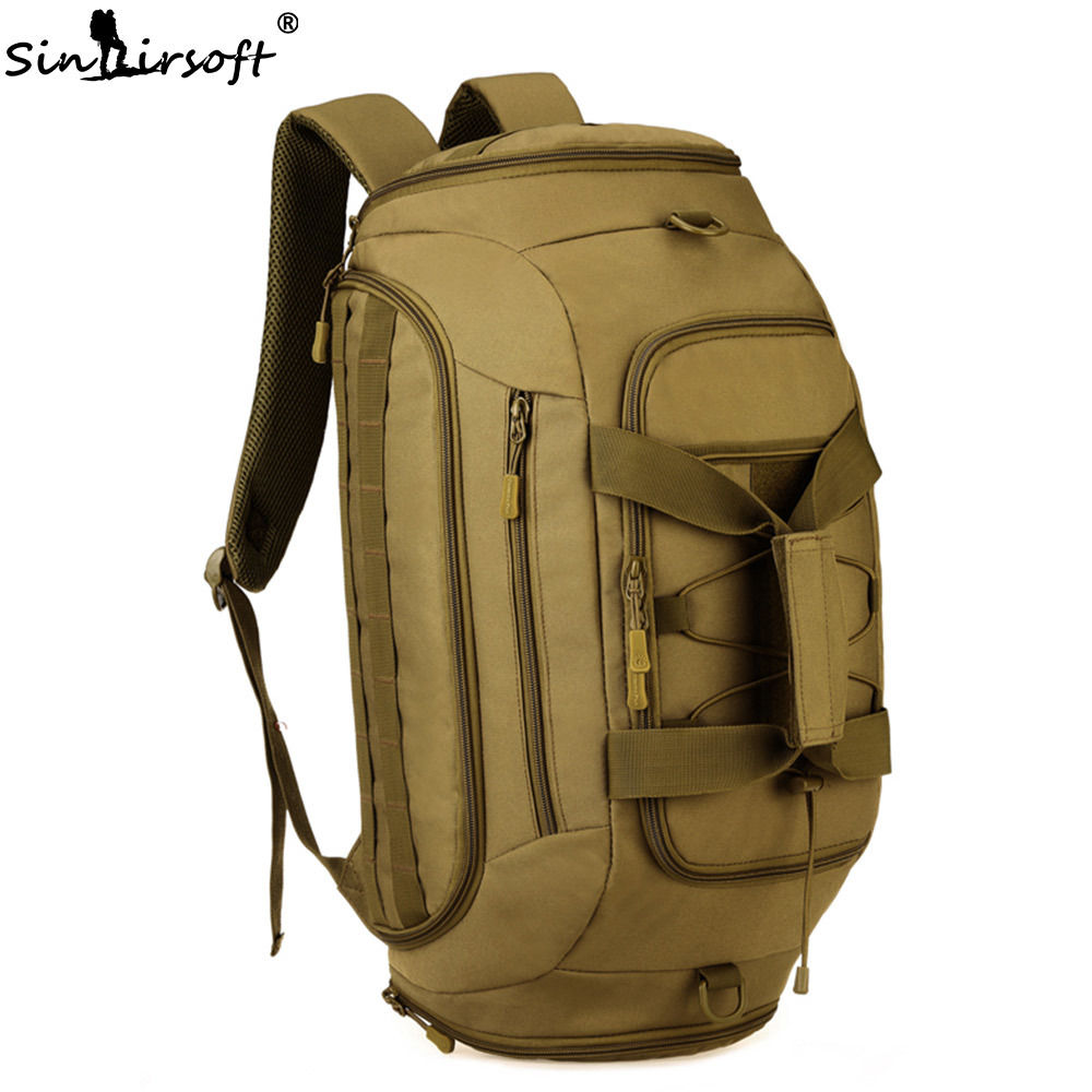 SINAIRSOFT 35L Nylon Tactical Backpack Waterproof 14 Inch laptop Military Package Outdoor Sport Camping Hiking Camera Bag LY2030 sinairsoft 14 inch laptop tactical molle military backpack 800d nylon sports bag camping hiking waterproof men travel backpack