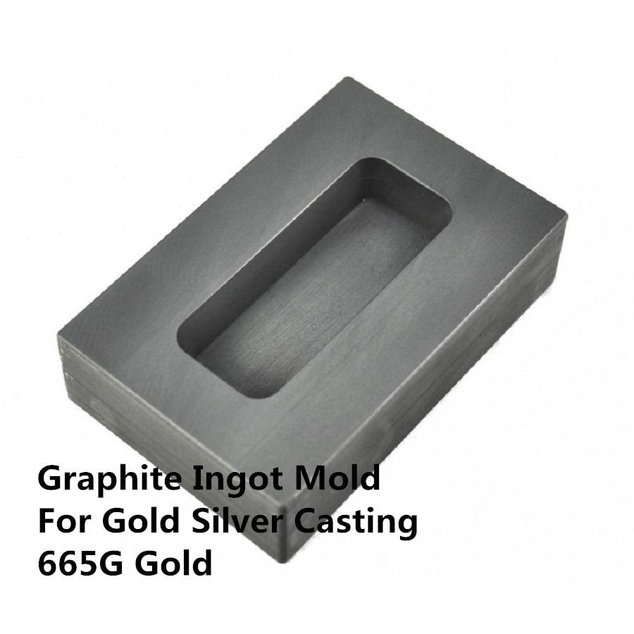 graphite ingot mold   for 665g gold  casting  ,320g Silver  Melting , gold bar mold ,FREE SHIPPING graphite ingot mold for 665g gold casting 320g silver melting gold bar mold free shipping