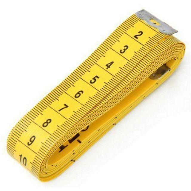 Cinta de costura a medida de alta calidad, duradera, suave, 3 metros, 300 CM, regla de medida corporal, confección de vestidos