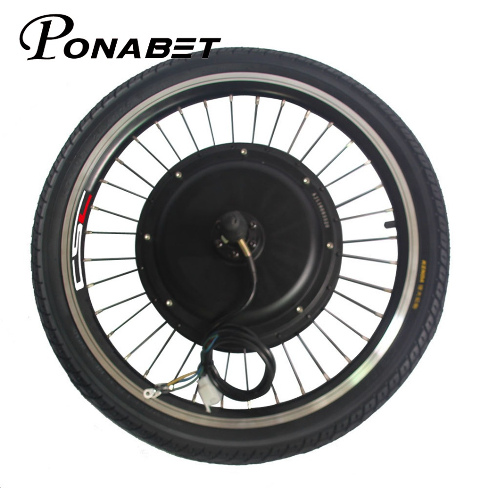 Excellent Ebike Electric Rear Motor Conversion Wheel Without Battery 20 26 27.5 27 28 29 inch 250w 500w 1000w 1500w E Bike Parts 36V 48V 2