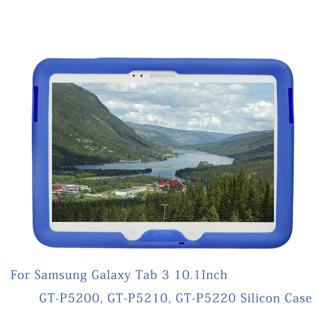 MingShore Rugged Cover for Samsung Galaxy Tab 3 10.1'' Tablet, Models GT-P5200, GT-P5210, GT-P5220  Protective Tablet Case