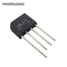 5PCS/Lot KBL410 KBL-410 4A 1000V Single Phases Diode Rectifier Bridge Wholesale Electronic