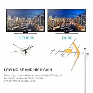 Image 4 - HD דיגיטלי חיצוני טלוויזיה אנטנה גבוהה רווח HDTV אנטנה עבור DVBT2 HDTV ISDBT גבוהה רווח חזק אות חיצוני טלוויזיה אנטנה
