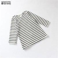 Girls Long Sleeved Dress Children Spring And Autumn Japanese Striped Cotton Dress Children S Dresses