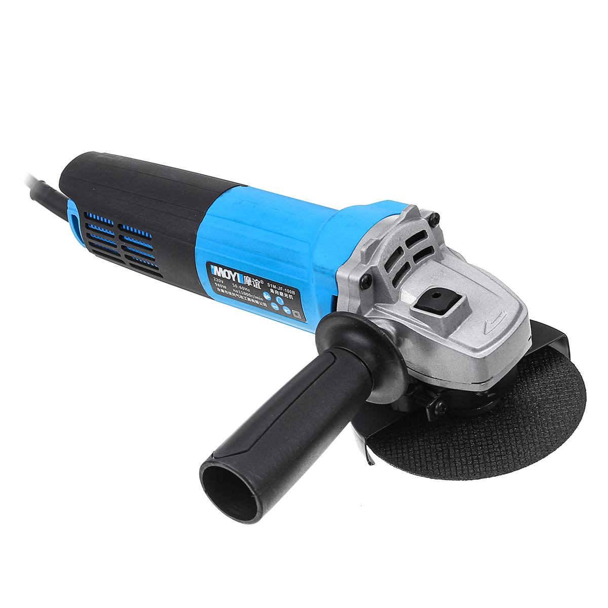 11000r/min Angle Grinder Electric Woodworking Grinding Grinder Machine Cutter Cutting Sanding Polishing Metal Wood Power Tool