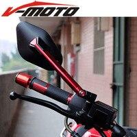 High quality Motorcycle Mirror Moto Bike Rearview Mirror Rear View Mirrors Alloy Motorbike Rear View Mirrors 8mm/10mm