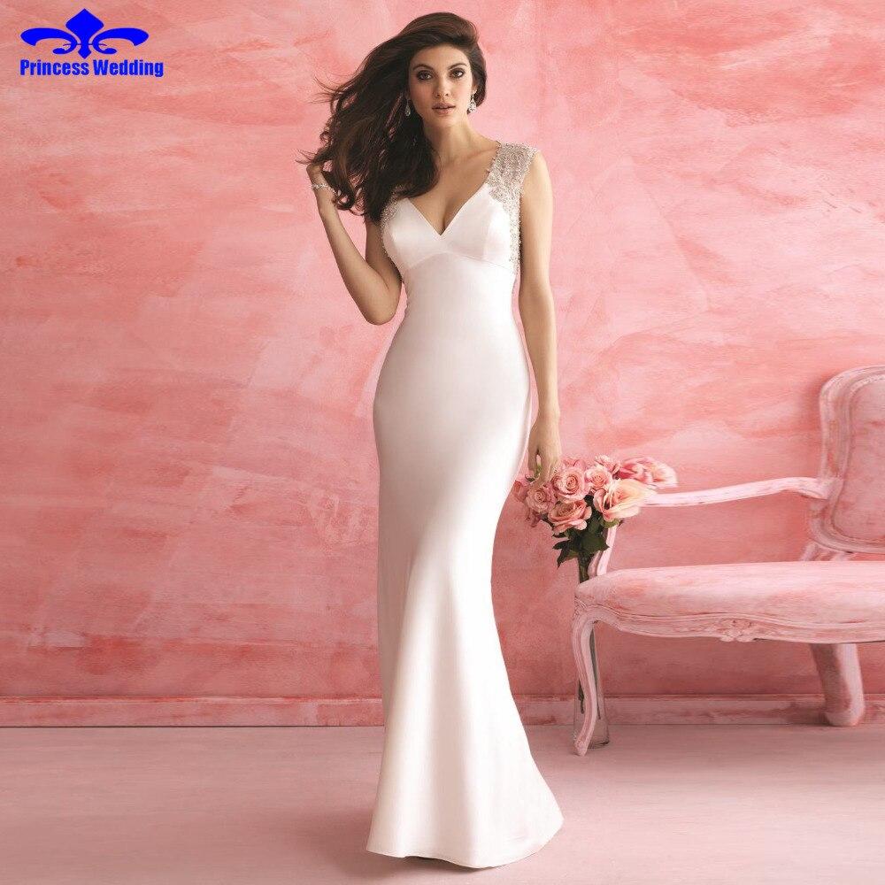Hermosa Vestido De Novia Lucy Embellecimiento - Colección de ...