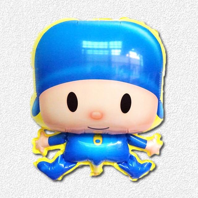 Conhecido 5 unidades/lotes Brinquedos Pocoyo pocoyo balão para a Decoração  GL89