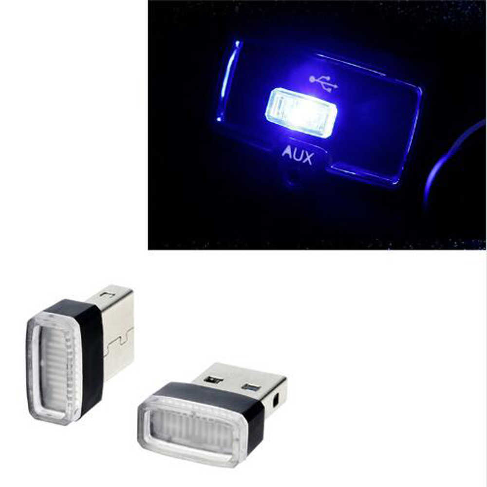 Universale Auto-Styling USB Luci D'atmosfera A LED Lampada Decorativa per Lada Priora Berlina sport Kalina Granta Vesta X- ray XRay