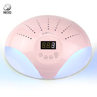 48W UV Lamp LED Nail Dryer Double Hands Fast Dry Nail Lamp Manicure for Curing UV Gel Polish Nail Art Tools