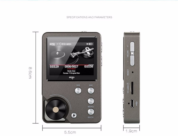 Hifi-player Moonlight Z6 Pro Hallo Fi Mp3 Player Hallo-res Verlustfreie Musik Player Dsd Dac Hifi Player Touch Screen Tragbare Flac Player Mp3 StraßEnpreis
