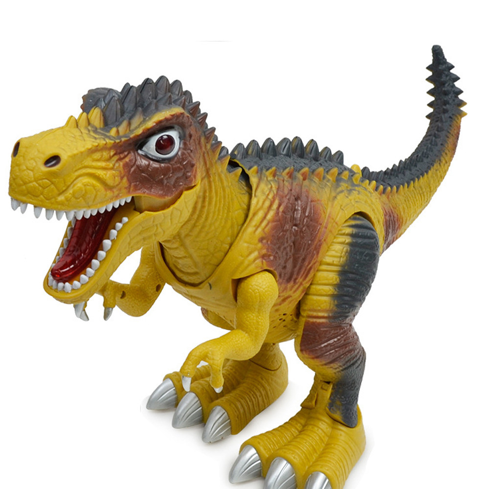 HIINST stuffed toy Kids Toy Walking Dinosaur Toy Figure With Lights & Sounds, Real Movement sapr11HY