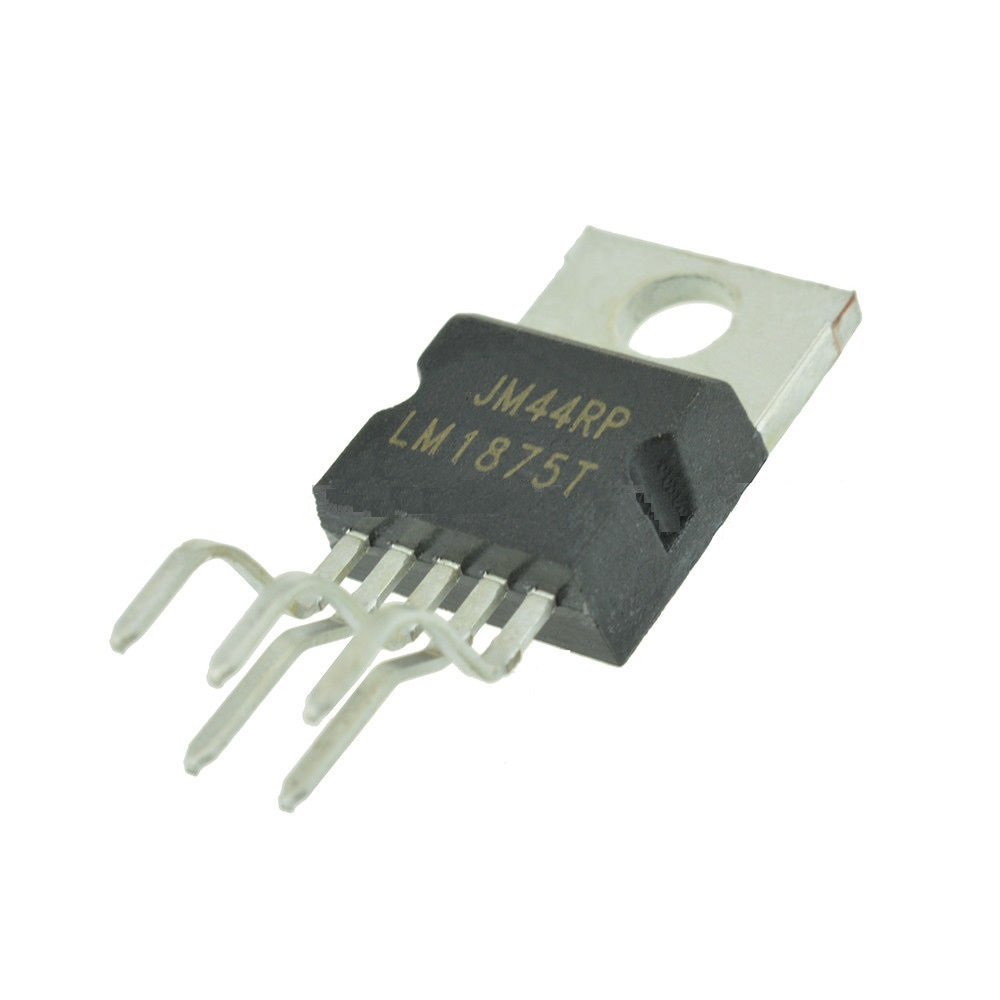 10pcs Lot Lm1875t Lm1875 Audio Power Amplifier Ic To220 5 In Listen Better T Use Currentmode Circuit Pcs Amp Pwr 30w Ab New