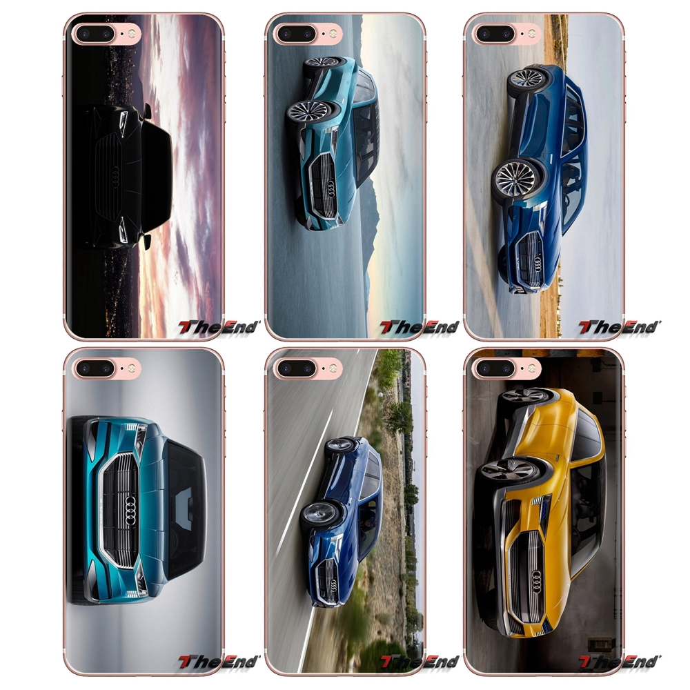 Us 099 Audi E Tron Quattro 4k Wallpaper For Samsung Galaxy A3 A5 A7 A9 A8 Star A6 Plus 2018 2015 2016 2017 Transparent Soft Shell Cases In Fitted