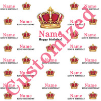 Customization birthday party girl photo backdrops crown photo backdrops Fond studio photo vinyle Foto background