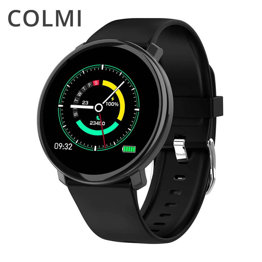 Reloj inteligente COLMI M31 Full Touch IP67 impermeable multimodo deportivo DIY cara de reloj inteligente para Android e IOS