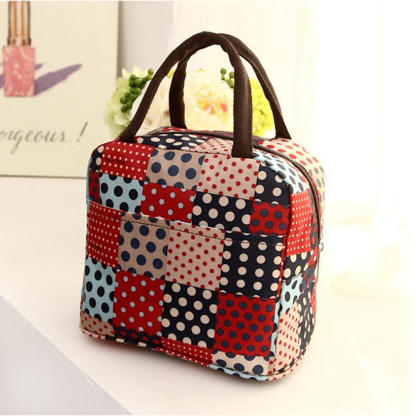 Home Storage Handbag Thermal Insulated Tote Picnic Lunch Cool Bag Cooler Box Handbag Pouch MAR15