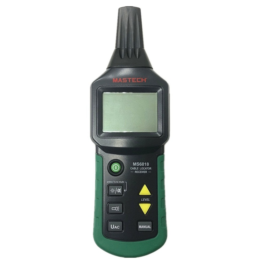 Image 3 - Mastech MS6818 Portable Professional Wire Cable Tracker Metal Pipe Locator Detector Tester Line Tracker Voltage12~400Vdetector metal detectormetal detectormetal locator -