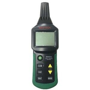 Image 3 - جهاز اختبار كابل الأسلاك الاحترافي المحمول Mastech MS6818 جهاز فحص محدد موقع الأنابيب المعدنية جهاز تعقب الخط Voltage12 ~ 400 فولت