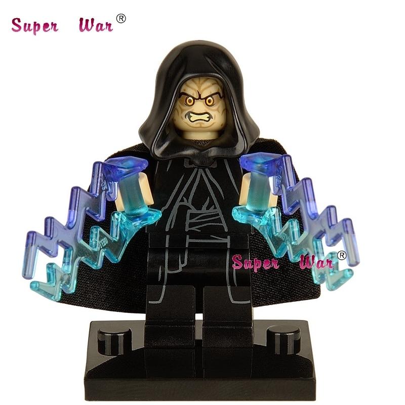 1PCS  Superhero Marvel Emperor Palpatine Building Blocks Action  Sets Model Bricks Toys For Children