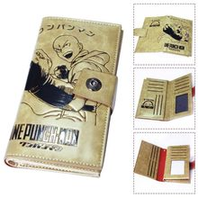 One Punch Man PU Leather Slim Purse