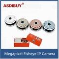 Voando estilo pires Câmera IP sem fio wi-fi 5MP 1.7 MM Lente olho de peixe Olho de Peixe Câmera de Segurança IP P2P ONVIF
