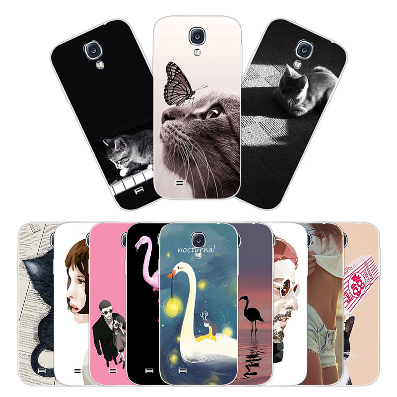 5.0 inch For Samsung Galaxy S4 Case Cover Silicone Coque for Galaxy i9500 Phone Shell for Galaxy S4 SIV Sweetheart Phone Case