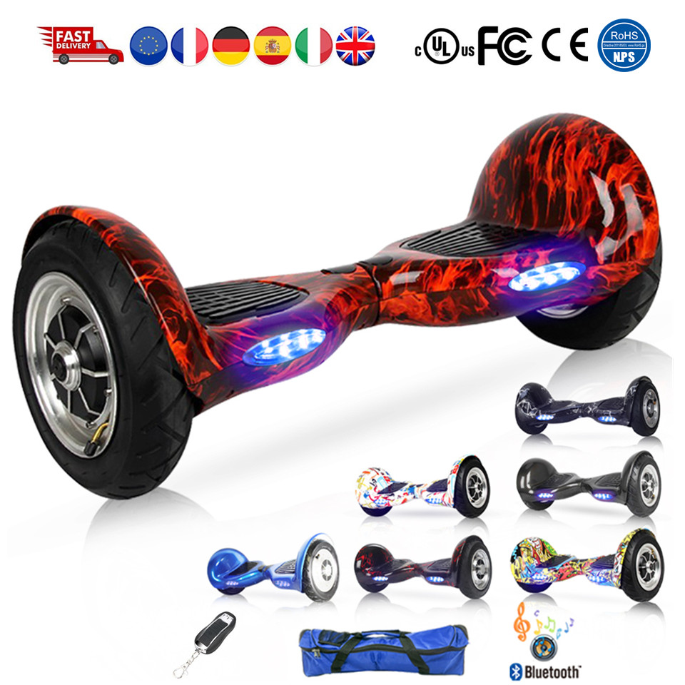 10 inch gyroscope electric scooter electric skateboard. Black Bedroom Furniture Sets. Home Design Ideas