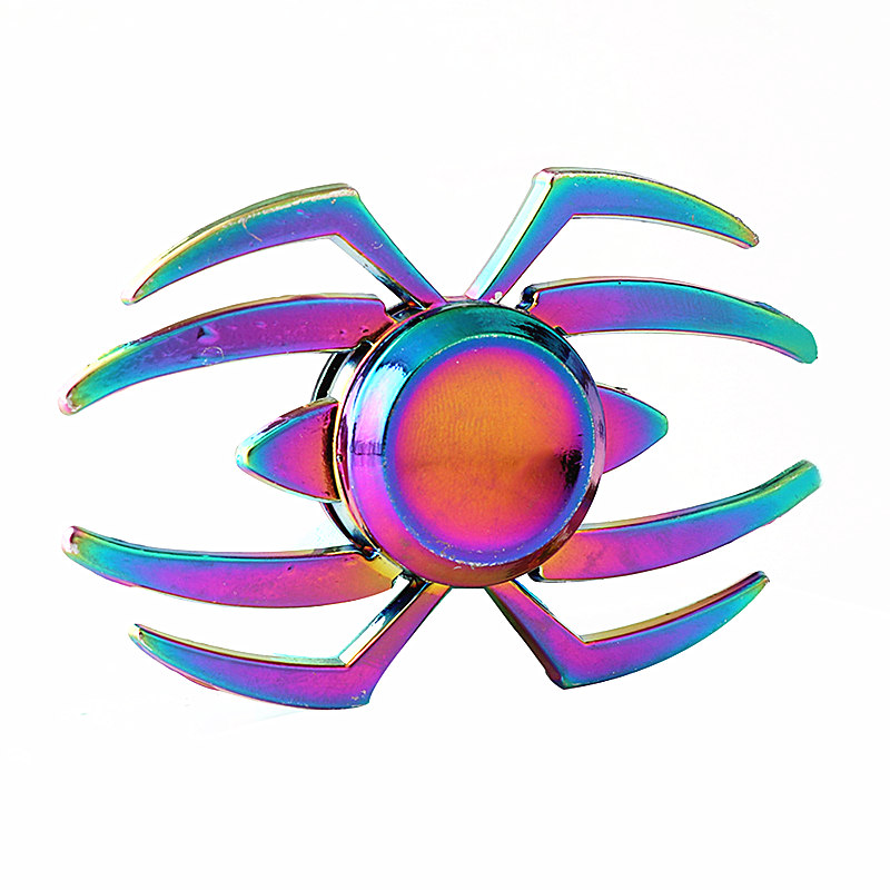 The Spider Colorful Fidget Spinner EDC Hand Spinners Autism ADHD Kids Christmas Gifts Metal Finger Toys Spinners