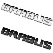 For smart 450 451 453 fortwo forfour Car Trunk Sticker Emblem Decal Styling Accessories Logo For Mercedes For BRABUS car sticker